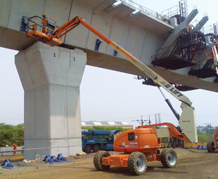 Eazi Sales & Service provides Mobile Elevated Working Platforms (MEWPs) that are safer, more productive and more cost effective than traditional, higher risk methods of working at height.
