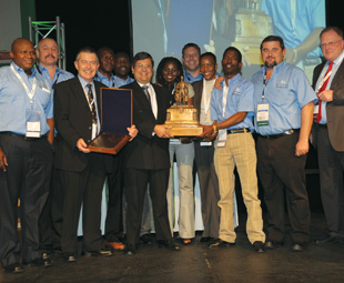 Modikwa Platinum Mine won the prestigious John T. Ryan Safety Award, presented for the first time in South Africa.