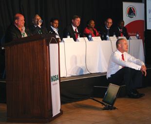 The first live SHEQ debate in South Africa: an innovative way for NOSHCON to help further advance the industry.