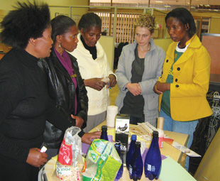 Teachers and mums from the community put their ECD skills into practise.