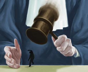 Don't expect fairness from the courts