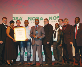 NOSCAR 2012 award winners … recognised for roles fulfilled rather than roles played. These prestigious awards are only presented to those who maintain the highest levels of excellence in occupational risk management.