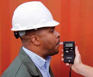 Professional breath alcohol testing devices are essential since entry-level devices are non-alcohol specific and can give false-positive results.