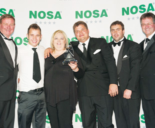 SGB Cape received the Best Exhibitor at NOSHCON 2012 award for its exquisite stand.