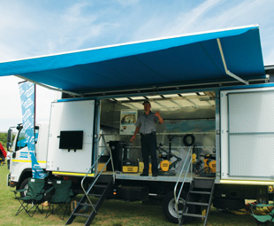 Atlas Copco's Construction Tools Division line manager, Neville Steward, explains the benefits the companies new Demo Truck can provide.