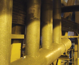 Skyriders assisted a power generation plant in Limpopo in repairing its downpipe infrastructure.