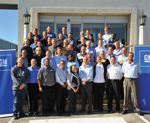 A total of 31 delegates from 23 different component suppliers recently attended an energy consumption and cost saving workshop at GMSA's Kempston Road plant in Port Elizabeth.