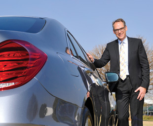 Martin Zimmermann, president and CEO of Mercedes-Benz South Africa, says that the company aims to reduce fuel consumption and minimise emissions today - and completely eliminate them in the long run.