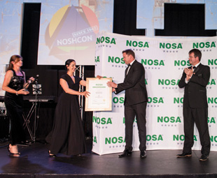 The Nosa awards were handed out amidst thunderous applause.