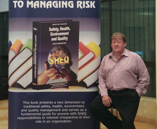 """""""We've developed a world-class strategy for sustainable SHEQ,"""" says IRCA Global CEO, Carel Labuschagne."""