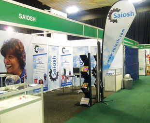 Networking with Saiosh at OSH Expo 2014