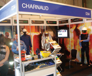 Charnaud launched its new Metal-Safe range at the show.