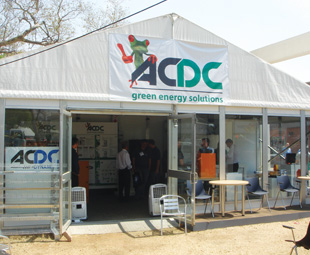 ACDC Green Energy Solutions hit the ground running at this year's show, with an exciting line-up of new products and services.