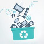 250 000 t of e-waste per annum! Where must it go?