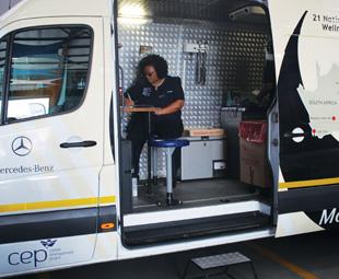 Mercedes-Benz drives wellness across southern Africa