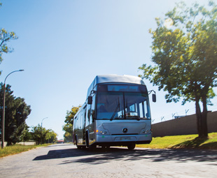 On the road to eco-friendly public transport