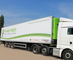 First of its kind trailer potentially reduces CO2 emissions by over 10,000kg per year
