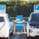 Nissan and BMW electrify V&A's parking lot