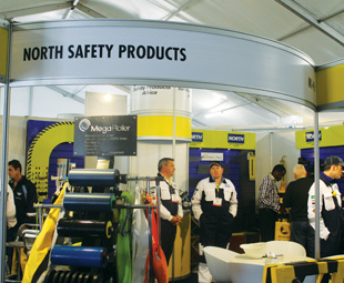 Electra Mining offers SHEQ suppliers such as North Safety, Du Pont and Ansell interaction with 29 000 visitors.