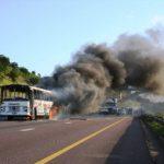 Bus fires under fire
