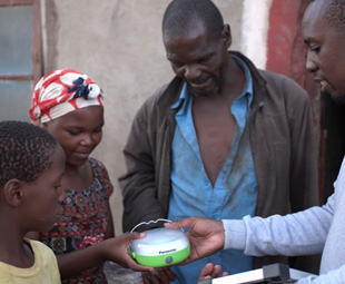 Panasonic lights up Africa