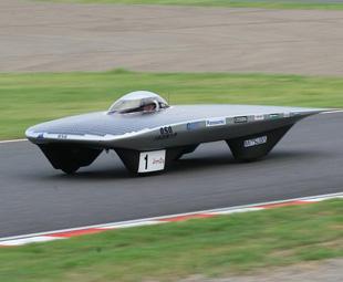 Trina Solar Race Car Goes to Egypt