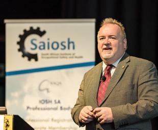 Graham Parker, president – IOSH (UK