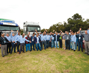 In 2015 South Africa came out tops in the global FleetBoard Drivers' League.