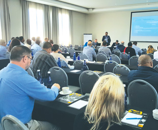 Saiosh members attended the Saiosh CPD OHS Workshops in Johannesburg, Bloemfontein, Durban, Port Elizabeth and Cape Town, followed by the AGM on October 24.